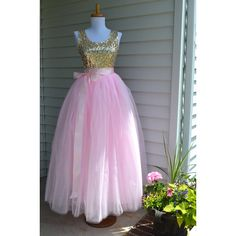 Womens Tutu Pale Pink Tulle Skirt Tulle Skirt Pink Skirt Ballet Skirt... (130 CAD) ❤ liked on Polyvore featuring black, skirts, women's clothing and sash belt