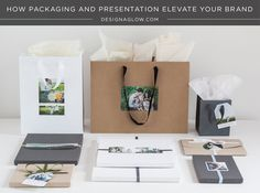How packaging and presentation elevates your brand | #designaglow