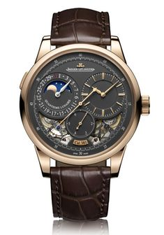 TimeZone : Industry News » SIHH 2017 - Jaeger-LeCoultre Duomètre Collection