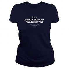 Awesome Tee GROUP EXERCISE COORDINATOR JOBS TSHIRT GUYS LADIES YOUTH TEE HOODIES SWEAT SHIRT VNECK UNISEX T shirts