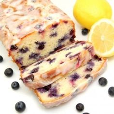 Lemon-Blueberry Cake. This has our mouth watering! It looks perfect! #ThePerfectPastry –– BabyCenterBlog.com