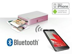 Print, edit & share photos with LG smart mobile pocket photo printer using NFC technology. Mobile Pocket, Bluetooth, Photo Printer, Iphone, Scrap, Layout, Easy, Shopping, Tecnologia