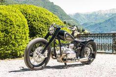 Historischer Motorradbau und moderne Custom-Welt - BMW verbindet auf der Villa d'Este beides mit der Studie BMW R5 Hommage, die an die legendäre R5 erinnern soll.