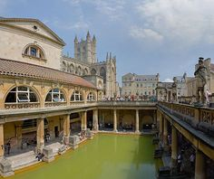 Romeinse Thermen in Bath - Wikipedia