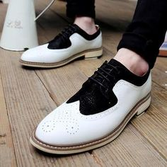 Wingtip Perforated Oxford  from #YesStyle <3 Noyo.Carr YesStyle.com