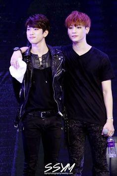 Junior and JB