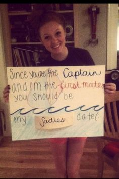 sadies dance asking ideas for swimmers - Google Search