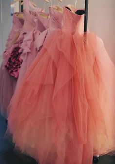 i would love to have fancy dresses like these, the thing is i would have no where to wear them to lol