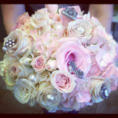 Victorian inspired Quinceanera bouquet