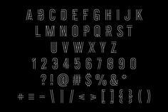 A custom brand typeface for Nike Jordan Training.