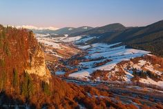 Ostrá skala a Leštiny,Slovakia