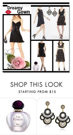 """""""2016 Short BCBG Little Black Dresses"""" by evermissjody ❤ liked on Polyvore featuring BCBGMAXAZRIA, Christian Dior and Manic Panic"""
