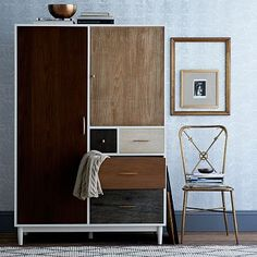 Patchwork Armoire - Multi #westelm