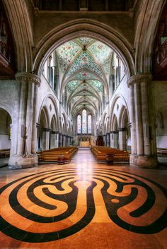 Boxgrove Priory, Chichester, Sussex, England was founded in about 1066 by Robert de Haye