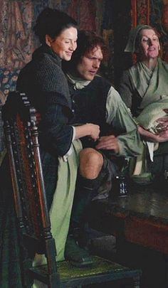 Jamie & Claire from the Outlander series -