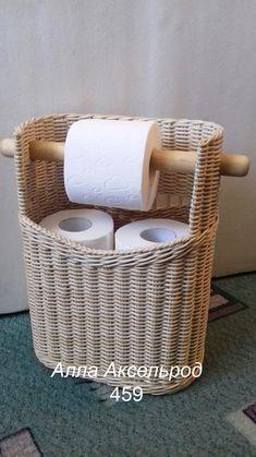 Arts And Crafts Beer Parlor Newspaper Basket, Newspaper Crafts, Willow Weaving, Basket Weaving, Toilette Design, Paper Weaving, Wicker Baskets, Gift Baskets, Diy For Kids