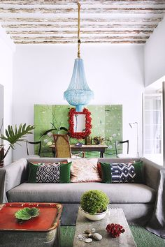 decorating with green via / sfgirlbybay
