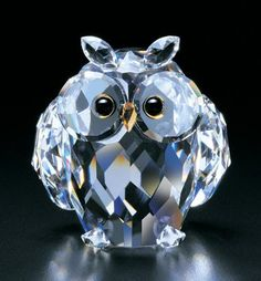 Wise Owl crystal figurine from www.CrystalWorld.com