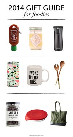 9 Gift Ideas for #Foodies (Under $100!) #giftguide | www.paperplatesblog.com