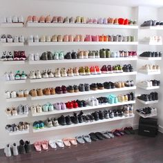 "120.3k Likes, 5,658 Comments - SHERLINA (@sherlinanym) on Instagram: ""Finally moved to my new place in London  look at my new sneaker wall guys  It was a struggle but…"""