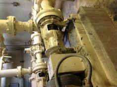 Raw sludge pumps (I rebuilt that one! :-))