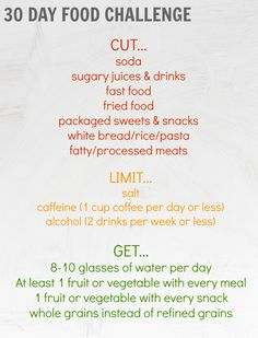 30 day weightloss challenge plan - Google Search