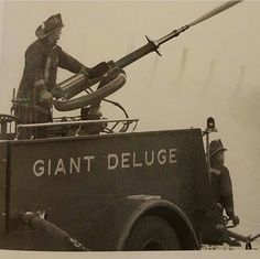 Every large city used to have a deluge unit.