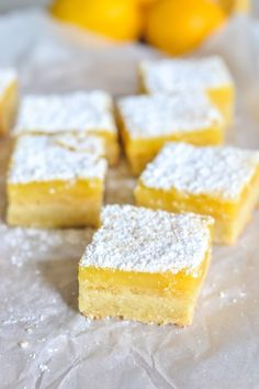 Topped with a delicious, tart lemon filling and a rich and crumbly shortbread base, this lemon curd slice is perfect for afternoon tea or any occasion! Lemon Dessert Recipes, Lemon Recipes, Sweet Recipes, Baking Recipes, Delicious Desserts, Yummy Food, Tea Recipes, Lemon Curd Dessert, Lemon Curd Cake