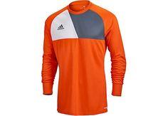 Buy the adidas Assita 17 Goalie Jersey in orange from www.soccerpro.com today!