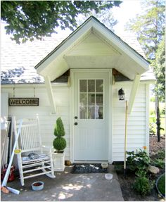 Garage converted to guest house-would be an adorable cottage rental