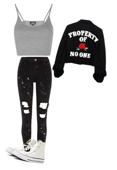 """Untitled #125"" by meganharb on Polyvore featuring River Island, Topshop and Converse"
