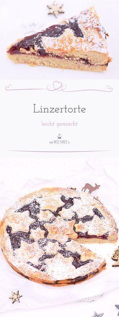 Linzertorte ist so ein Klassiker, der unbedingt probiert werden sollte.  Das Rezept ist super einfach. Wie du die Linzertorte zauberst, zeige ich  dir hier! #Linzertorte #Weihnachtskuchen