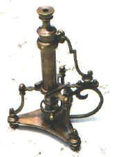 A reproduction microscope offered as an antique made by Philip Carpenter, London, c. This replica instrument was made and sold, initially, as a decorator piece. Mad Science, Science Facts, Vintage Medical, Neo Victorian, Cool Tools, Steampunk Fashion, Make And Sell, Old Things, History