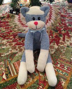 Child S Sock Cat Stuffed Animal