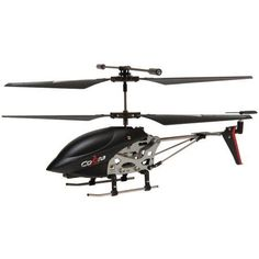 Cobra RC Toys 908720 3.5-Channel Mini Gyro Special Edition RC Helicopter, Black