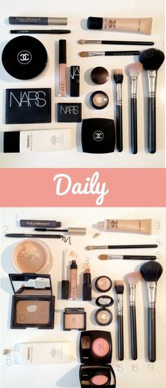 The best makeup to achieve a clean, natural, everyday, look. The Doctors Closet Blog.