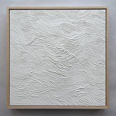 Art – Ninos Studio Texture Art, Texture Painting, Paint Texture, Mixed Media Painting, Painting Frames, Gesso Art, Textured Canvas Art, White Canvas Art, Ideias Diy