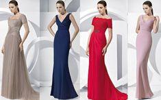 Cuando cumples ciertos años, ya no te ves bien con cualquier vestido. ¡Te mostramos un selección de vestidos pensados para mujeres maduras!