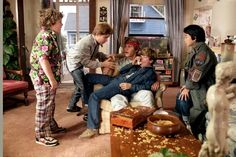 Chunk, Mouth, Brandon, Mikey and Data. 80s Movies, Iconic Movies, Good Movies, Love Movie, Movie Tv, Radios, Os Goonies, Corey Feldman, The Best Films