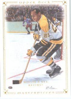 2008 09 Upper Deck Legends Masterpieces Hockey Card # 73 Willie O'Ree Bruins by Upper Deck. $5.95. 2008 09 Upper Deck Legends Masterpieces Hockey Card # 73 Willie O'Ree Bruins