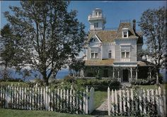"""""""The Witches House"""" from the film """"Practical Magic,"""" via Seance Cafe (http://seancecafe.tumblr.com/tagged/Victorian-Houses)."""
