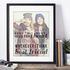 Best Friend Gift Birthday Gift for Her Best Friend von PaperRamma