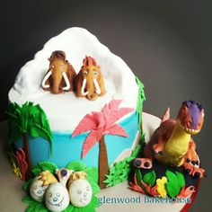 Ice Age 3, Dawn of the Dinosaurs cake