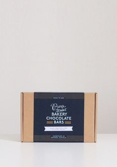 Pump Street Chocolate bar gift box