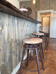 Awesome bar created using Easy BarnWood in Covered Bridge by Great American Spaces