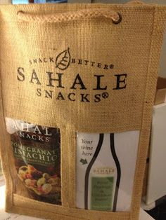 WIN a holiday gift bag from Sahale Snacks! Giveaway ends 12/24/12.