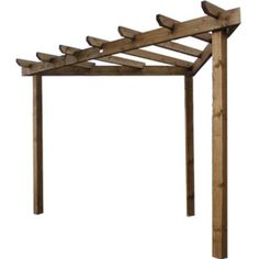 The pergola kits are the easiest and quickest way to build a garden pergola. There are lots of do it yourself pergola kits available to you so that anyone could easily put them together to construct a new structure at their backyard. Pergola D'angle, Corner Pergola, Small Pergola, Pergola Attached To House, Wooden Pergola, Pergola Shade, Pergola Plans, Pergola Ideas, Pergola Lighting