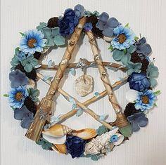 Pentacle, Hanukkah, Wreaths, Home Decor, Decoration Home, Door Wreaths, Room Decor, Deco Mesh Wreaths, Home Interior Design