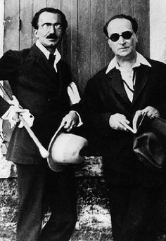 Nikos Kazantzakis and Angelos Sikelianos. Martin Scorsese, Important People, People Like, Zorba The Greek, Greek Culture, Writers And Poets, American Poets, The Orator, Book Writer