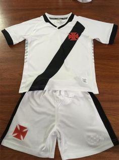 174764e2e 2019-20 Cheap Youth Kit Vasco da Gama Away Replica Soccer Kids Suit 2019-